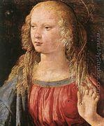 Annunciation (detail 3) 1472-75 - Leonardo Da Vinci