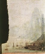 Annunciation (detail 4) 1472-75 - Leonardo Da Vinci