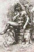Design for St John in the Wilderness 1508-15 - Leonardo Da Vinci