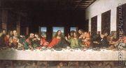 Last Supper (copy) 16th century - Leonardo Da Vinci