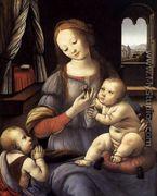 Leonardo da vinci paintings uffizi gallery