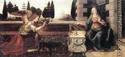Annunciation (Annunciazione) - Leonardo Da Vinci