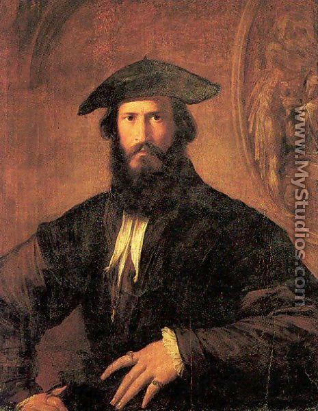 Lovely Portrait Of A Man   Girolamo Francesco Maria Mazzola (Parmigianino)