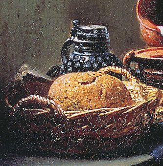 Vermeer Milkmaid Bread