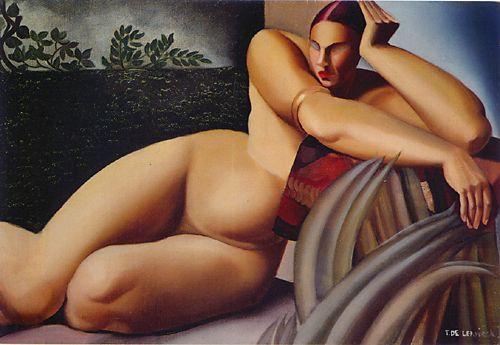 Lempicka, Reclining Nude